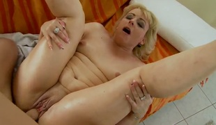 Blonde Barbie makes her dirty dreams a come to life with guys worm in her indiscretion